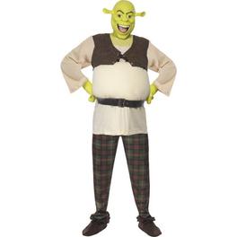 Disfraz de Shrek Deluxe adulto