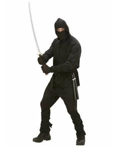 Ninja Krieger Kostüm für Herren